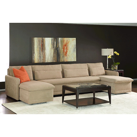 Hailey Sectional with Comfort Sleeper